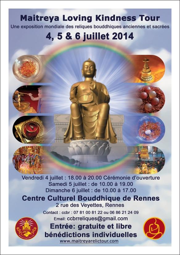 Exposition de reliques sacrées à Rennes (4 au 6 juillet) Flyer-a6-maitreya